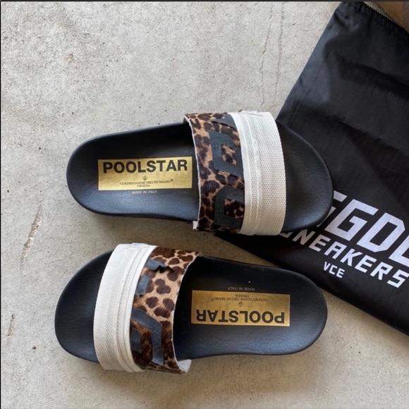 Golden Gooseleopard Poolstar Slides
